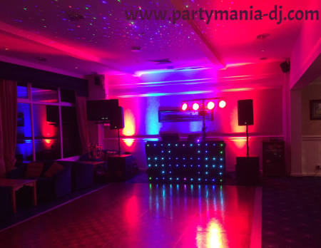 Wedding up lighting Bradford and Leeds