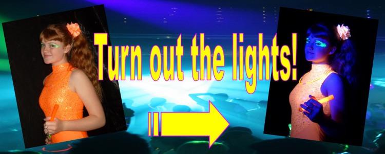 UV Glow in the Dark Disco Halifax Bradford Leeds Addingham