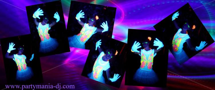 Glow Disco Dance DJ West Yorkshire