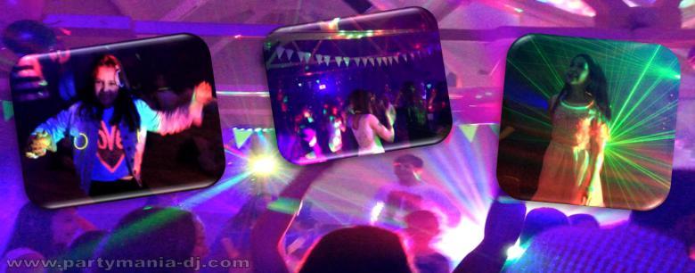 UV Party Mania Disco Bradford Leeds Halifax