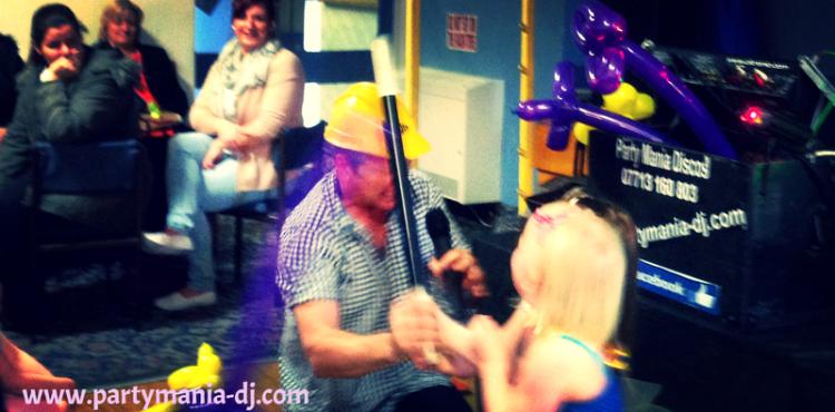 children's party entertainer west yorkshire