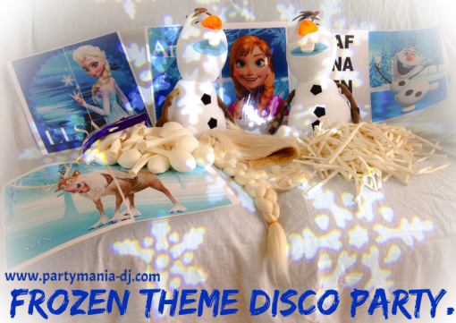 Party Mania Frozen Disco Bradford Keighley Leeds West Yorkshire