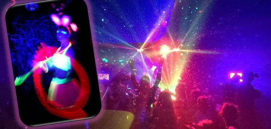 UV Glow School Disco