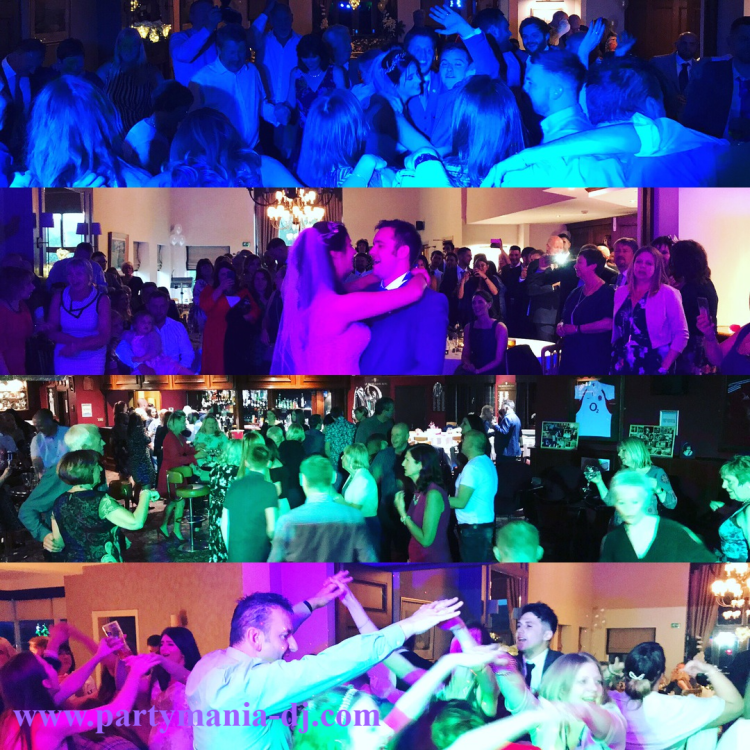 wedding disco dj yorkshire