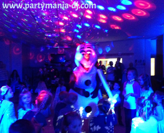 Party Disco Fun dj for Bradford Halifax Leeds